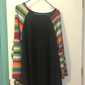 Serape design tunic/dress